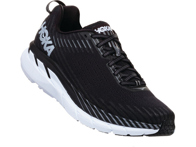Hoka One One Clifton 5 Wide - Zapatillas running Hombre - blanco/negro